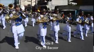 Bacoor Town Fiesta 2014 - Band Parade