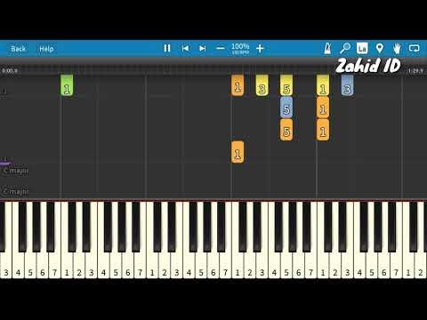 Lagu Anak DESAKU Piano Tutorial (Belajar Musik)