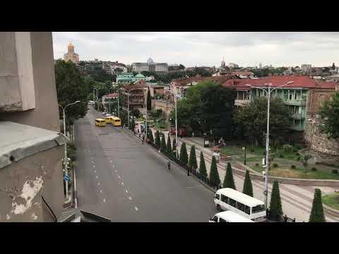 Вид из окна в Aleksandria Hotel (Tbilisi)