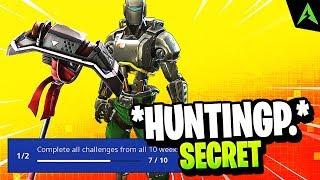 Pickaxe's A.I. M * Secret Mission * in Fortnite..