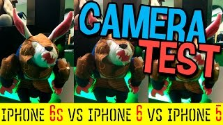 iPhone 6s VS iPhone 6 VS iPhone 5 Camera Test 4k Video