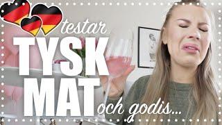 Testar TYSK mat ♡ Collab med Jenny Mustard!