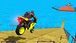 MEGA RAMP GRAND IMPOSSIBLE GT BIKE STUNT GAME #Dirt Bike Race #Bike Games To Play #Games For Android
