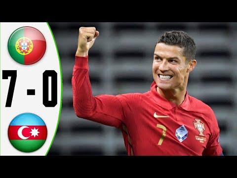 Portugal Vs Azerbaijan 7-0 Extеndеd Hіghlіghts \u0026 All Gоals 2021 HD