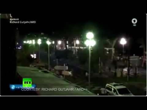 Video of truck moments before Nice attack rampage