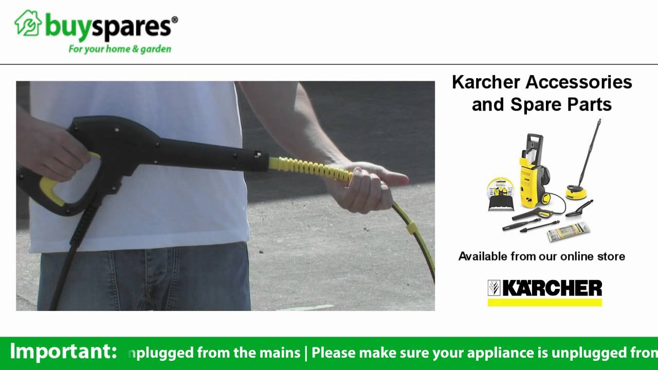 How To Unblock A Drain With A Karcher Drain Cleaning Hose