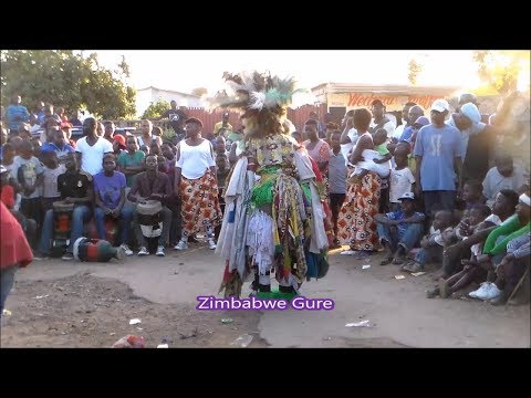 "Gure ""Cultural Traditional"" Dance @ Banda Second Avenue Mbare, Harare, Zimbabwe 2018"