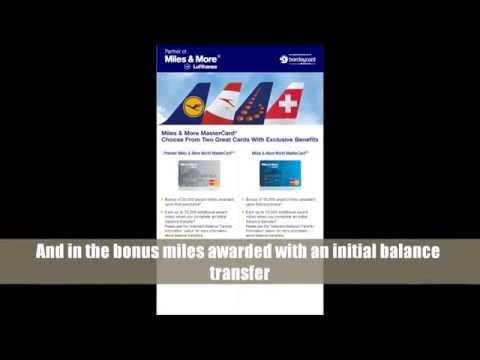 Lufthansa Airlines Credit Card Review Free Ticket Bonus