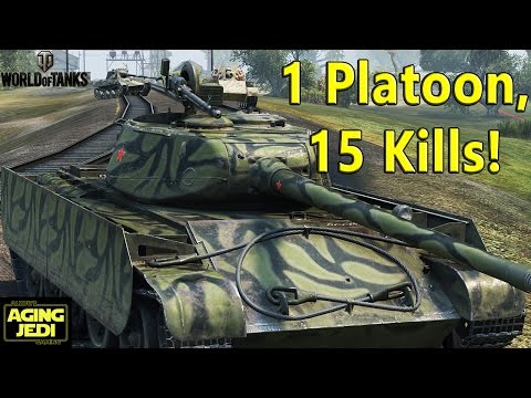 The HAVOK Crew - 1 Platoon, 15 Kills, Epic Teamwork! - World of Tanks