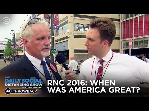 When Was America Great? - 2016 RNC | The Daily Show