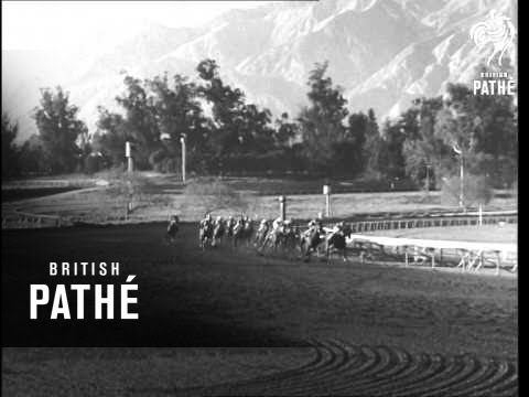 Santa Anita Handicap 1963 Youtube