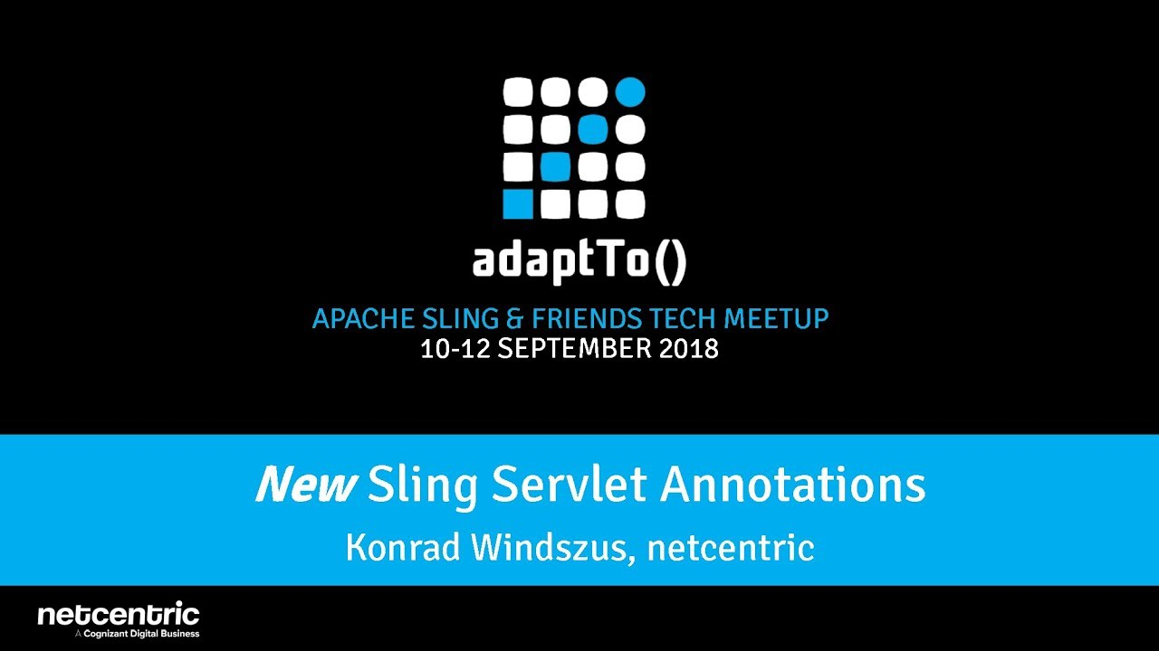 Apache Sling :: Servlets and Scripts