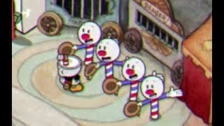 """Cuphead - Barbershop Quartet Song """"A Quick Break"""""""