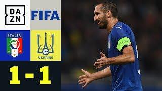 Squadra Azzurra schon wieder sieglos: Italien - Ukraine 1:1 | Highlights | Testspiel | DAZN