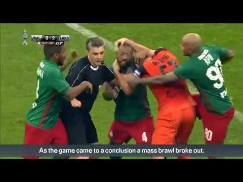 Ouch! Punches and kicks thrown in Russian Cup football final
