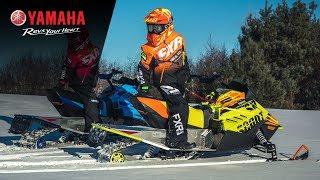 2020 Yamaha Snoscoot ES and SRX120R - Highlights
