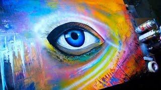 iris/ Graffiti por Carlos SBF