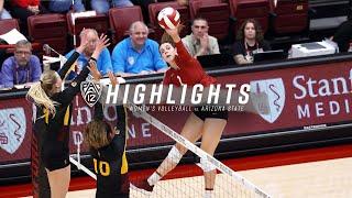 Stanford Women's Volleyball vs. Arizona State [10.13.19]