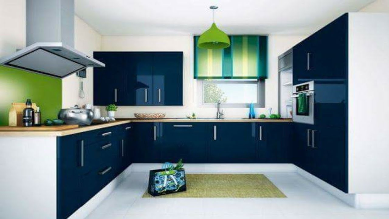 7 Recommended Kitchen Decorating Themes For Perfecting: U-shaped Modular Kitchen Design Ideas