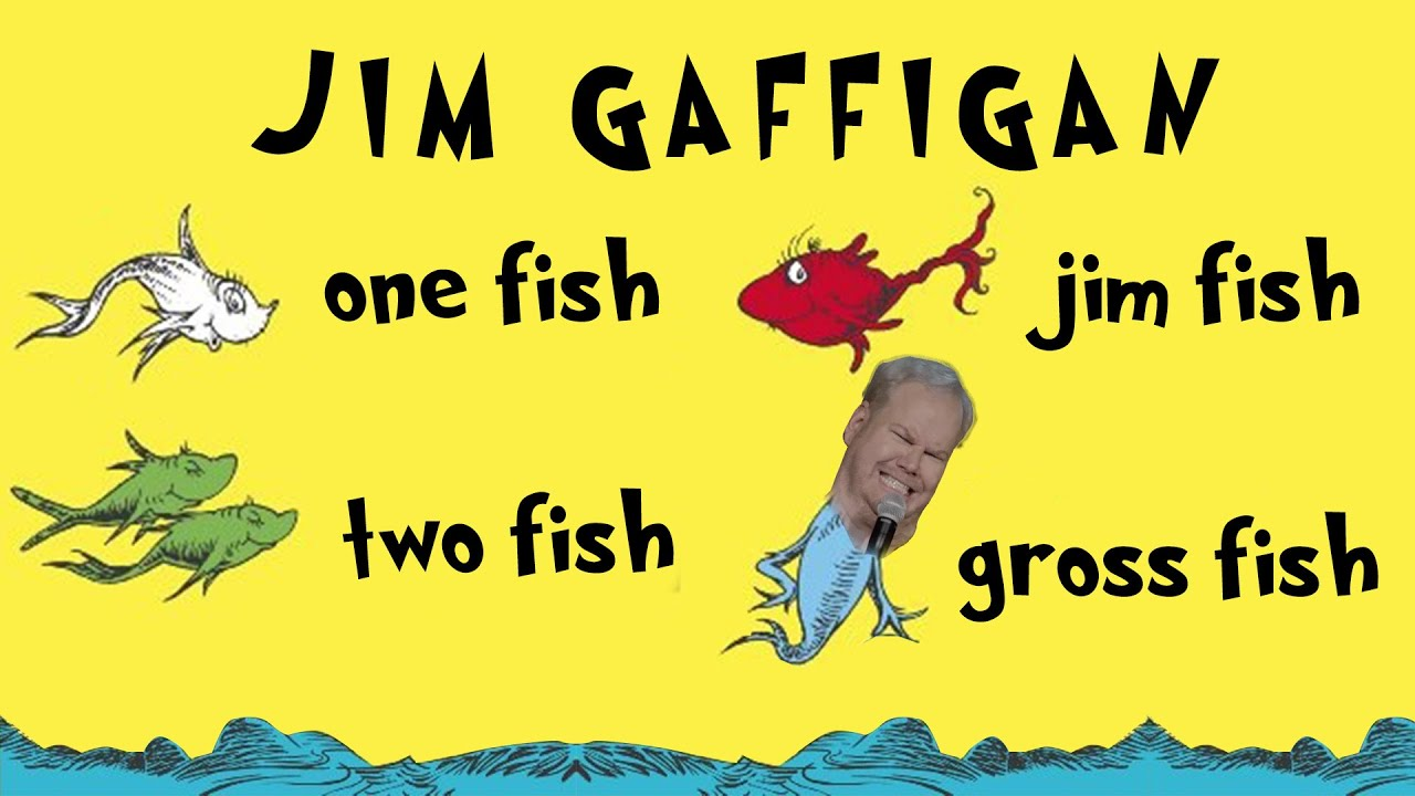 """""""Fish are Disgusting, Change My Mind"""" - Jim Gaffigan Stand up (Cinco)"""