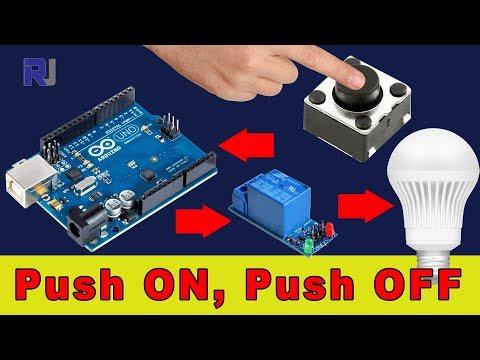 Arduino uno light switch