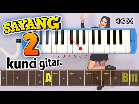 GITAR Chord - SAYANG 2 (SKA 86 Version)