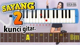 GITAR Chord - SAYANG 2 (SKA 86 Version)