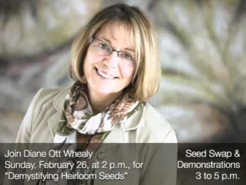 Diane Whealy of Seed Savers Exchange