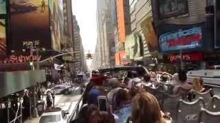 New York City Big Bus Tour Uptown & Downtown BEST OF!