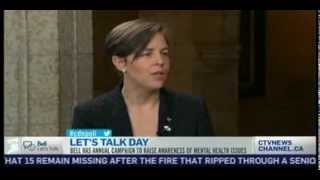 Kellie Leitch CTV Interview on Mental Health Awareness