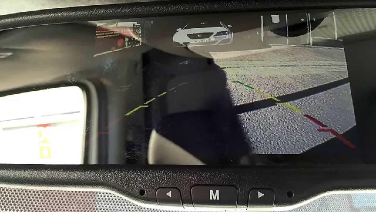 Instalaci n en una mercedes sprinter de una c mara trasera y de un retrovisor con pantalla youtube - Espejo retrovisor mercedes sprinter ...