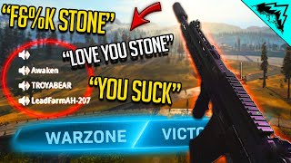 Winning Against Toxic Players in Warzone...