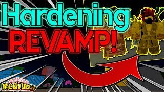 [NEW CODE!] HARDENING QUIRK REVAMP IS OP!? FULL SHOWCASE! | BOKU NO ROBLOX REMASTERED!? | ROBLOX |