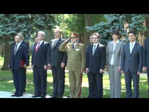 """Ceremonie20 de ani de la înfiinţarea Academiei Naţionale de Informaţii """"Mihai Viteazul"""
