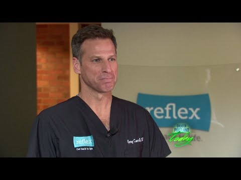 Reflex Clinic On Greater Portland Today