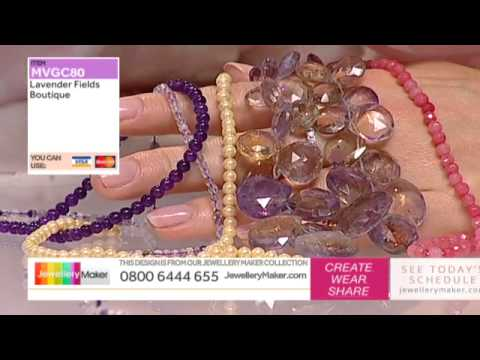 How to Make Beaded Jewellery: JewelleryMaker Slumber Party Show LIVE 29/08/2015