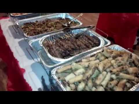 filipino american 2014 christmas party food youtube