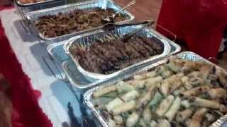 Filipino-American 2014 Christmas Party Food