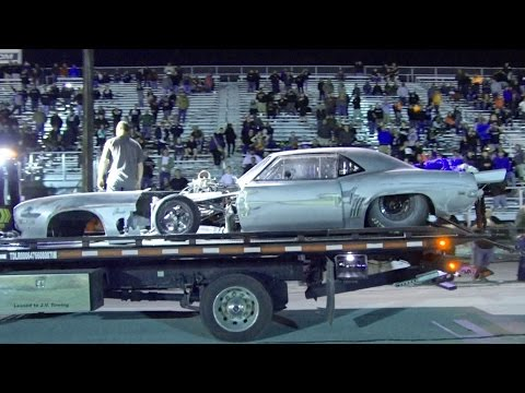 Camaro Hits The WALL – DOC from Street Outlaws!