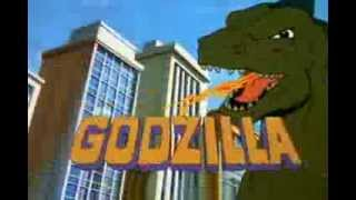 Godzilla (Hanna-Barbera) Open & Closing With H-B Action/Turner Logos