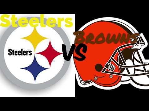 Browns vs Steelers (Week 1) 9/9/18