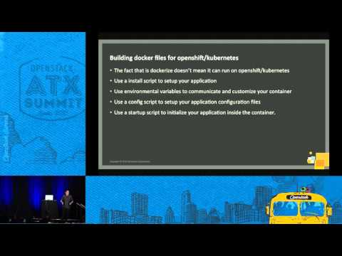 Openstack Components as Containerized MicroServices