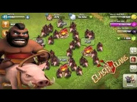 Coc hog attack - YouTube