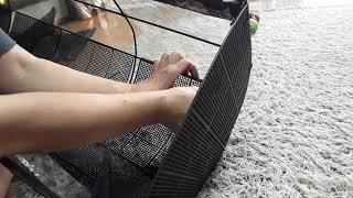 베란다걸이대 햇빛그늘막…