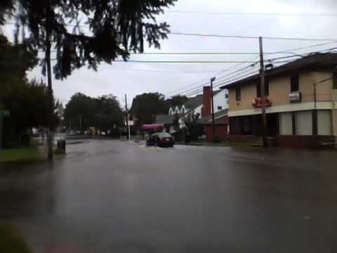 Hurricane Irene - The Aftermath. Middlesex, NJ