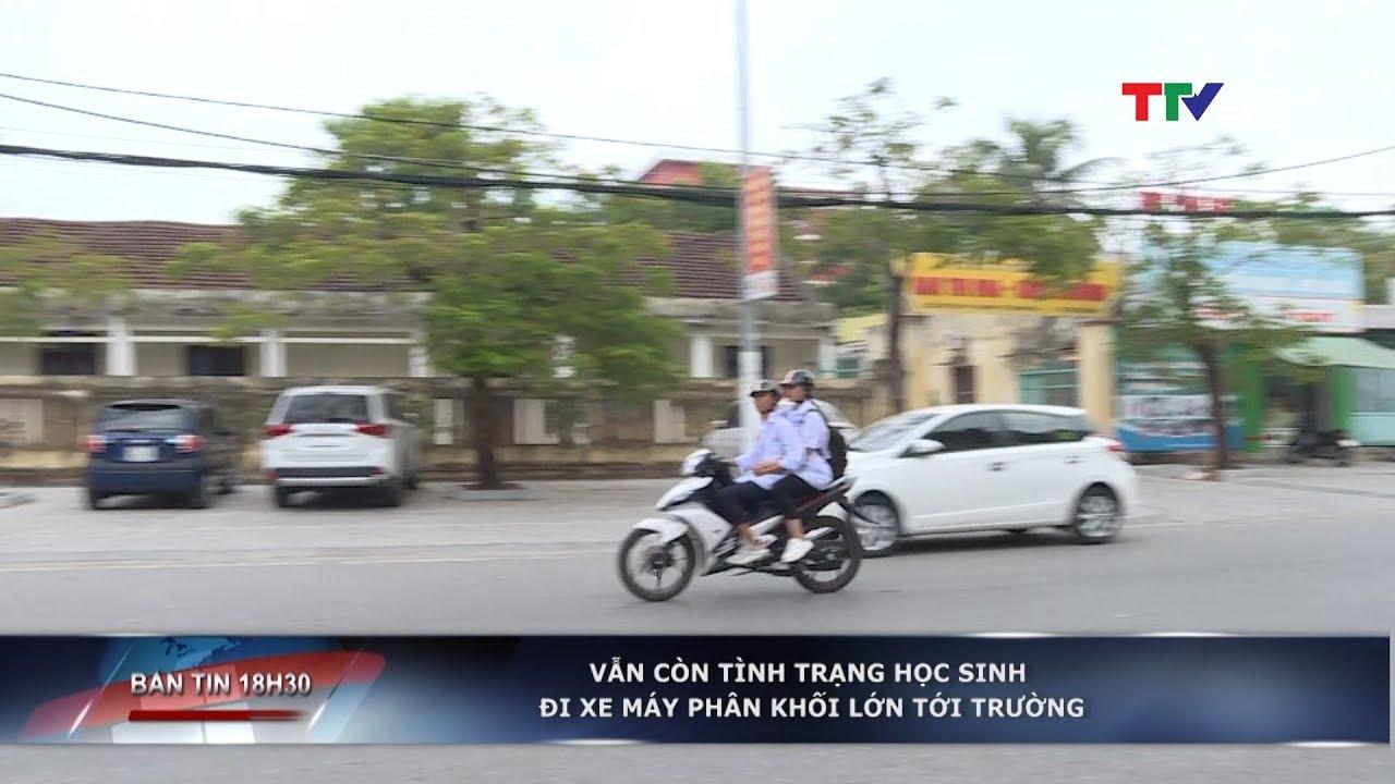 Vẫn còn tình trạng học sinh đi xe máy phân khối lớn tới trường