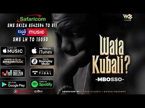 Mbosso -  Watakubali (Official Audio)