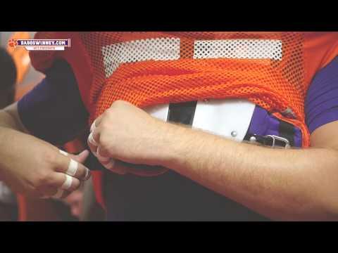 Clemson Football || Camp Life — Offensive Line