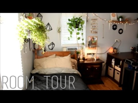 room tour 20162017 hippie tumblr boho  YouTube