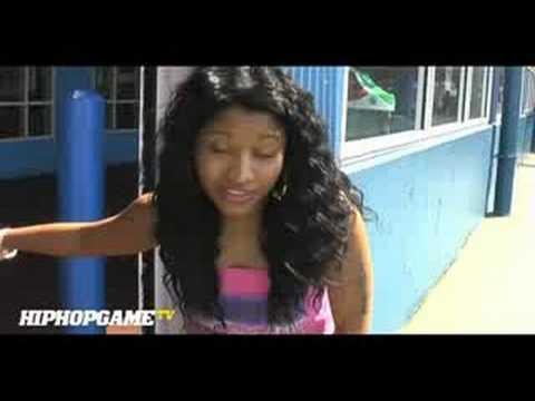 Nicki Minaj Interview Before She Was Famous (Talks Meeting Lil Wayne) 2008